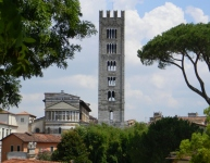 The Campanile from a distance
